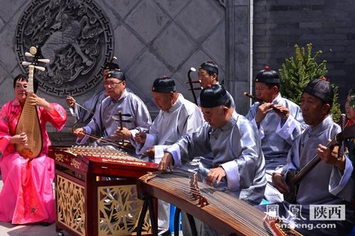 榆林小曲是 江南文化 在陕北的反应