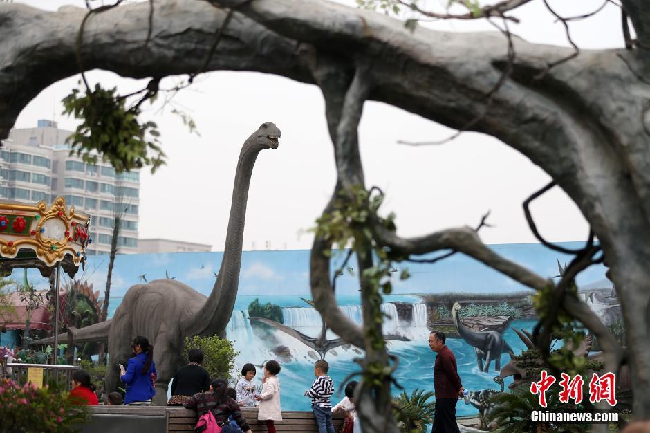恐龙 出没南京 再现 侏罗纪时代