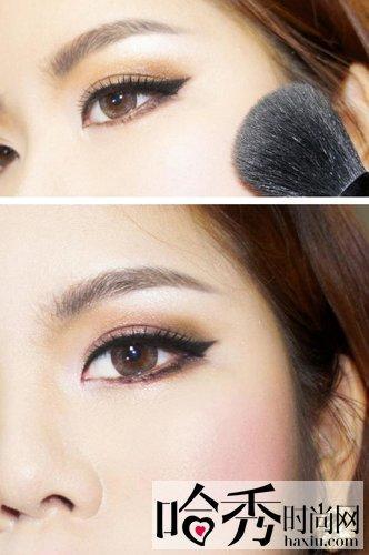 学习韩式眼线的画法 打造李孝利妖媚眼妆(图)