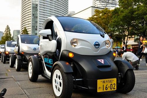 日产推出微型电动汽车租赁服务 首月用户突破