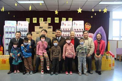 北京中芯幼儿园校长周宪明在参加3m健康科普公开课时