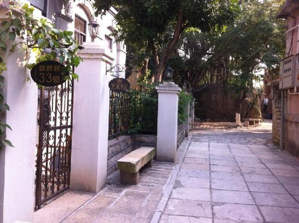 花园式建筑,欧式装修,休闲庭院,望海酒吧天台,尤其是安静,宽敞,舒适的