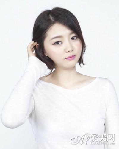 长发变短发扎法图解 尽显韩式甜美