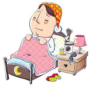 """结果是""""晚上不想睡觉,早上不想起床"""""""