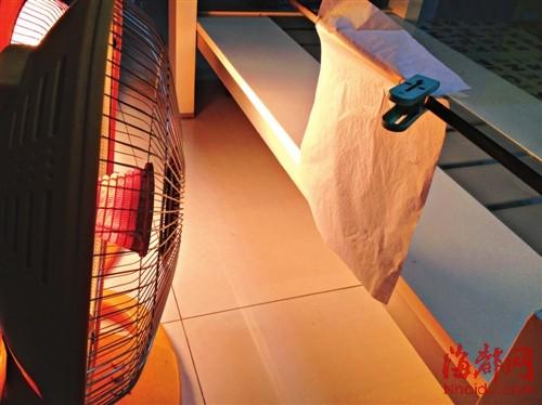 美的对横式取暖器内部结构