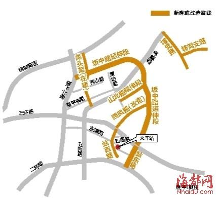 福州二环路地图
