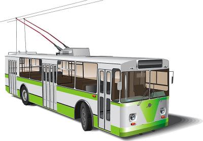 此外,无轨电车在搭线运行时,可以通过线网对车载锂电池进行充电,不必