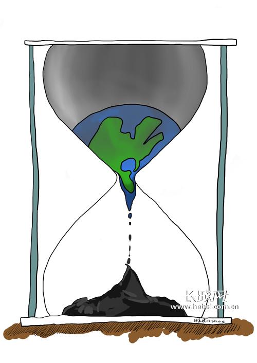 环境污染让地球伤痕累累