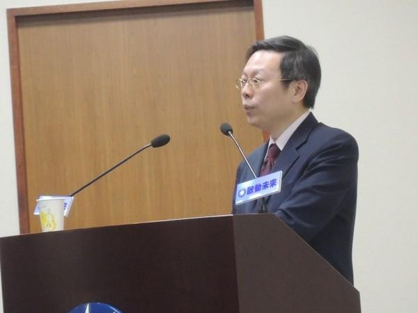 """台""""陆委会主委""""王郁琦 图片来源:台湾《今日新闻》"""
