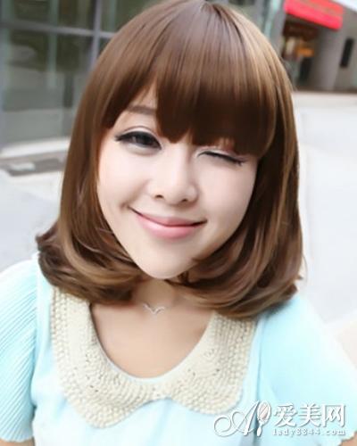 短发烫发,娇俏可人的韩式短卷发或可爱卡哇伊的韩式