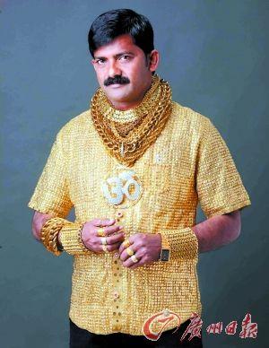 全球土豪奇葩行为大盘点 牙齿上镶黄金钻石