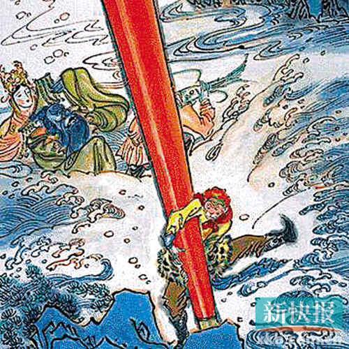 a命运的命运们为何在西游记里的龙王如此分色?不堪教程图片