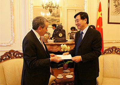 外交部副部长翟隽转任驻法大使 迎中法建交50周年