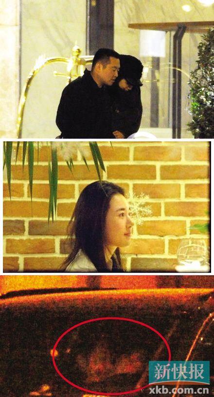 ■某杂志爆料,这名女孩陪同孔令辉吃饭约会。(图/新浪微博)