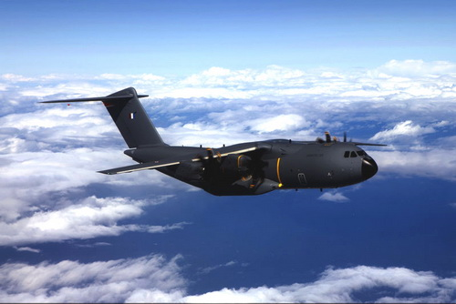 2013年8月1日,空中客车公司军用飞机部正式向法国空军交付了首架a400m