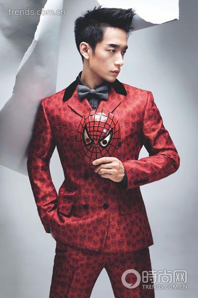 新郎装扮 打造我的superman|银幕|礼帽_凤凰时尚