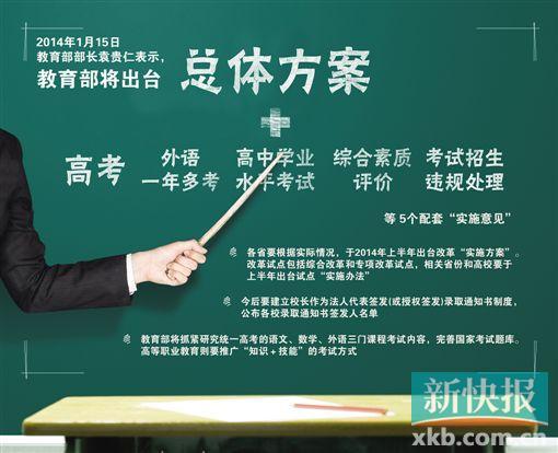 广东高考改革与中央原则一致|广州|宁彪