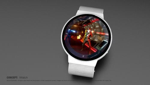 苹果iwatch智能手表概念设计图(图片来自cnbeta)
