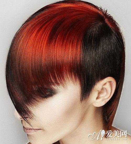 橘红色头�_橘红色头发图片 尽显张扬独特个性