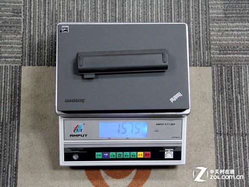 单机加上电池的重量:1.575kg