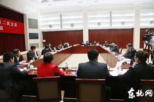 我省全国人大代表进行小组审议。东北网记者 魏义松 摄