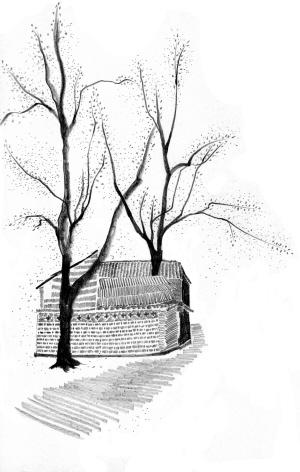砍树简笔画图片大全