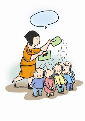 幼儿园长期喂孩子病毒灵|幼儿园|家长
