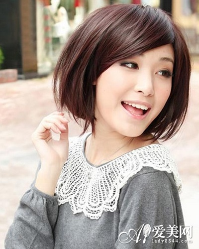 特别是韩国长发可爱发型,因为短发不但是迷人感性的代表,同样是可爱