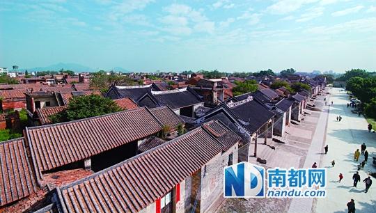 花都头村获评中国历史文化名村 美食 v花都领贵和文化秀城购物中心图片