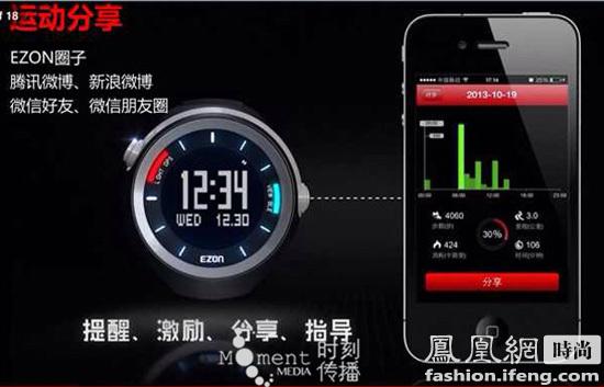 目前的智能手表的开发一般从两个方向进行,一个是利用手机高清图片