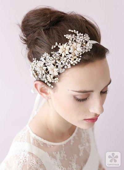 新娘头饰制作视频_twigs & honey 是一家制作婚礼配饰的店,主要是新娘,伴娘头饰的制作