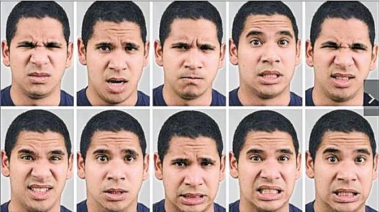 人类最少有21类表情!|面颊|面部_凤凰资讯图片图片