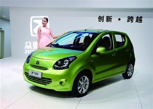 众泰z100作为新一代的a00微型轿车