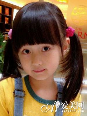 儿童发型图片大全 打造可爱小萝莉