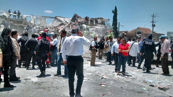 墨西哥一购物广场发生爆炸 2人死亡7人受伤(图