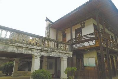 西式木结构建筑