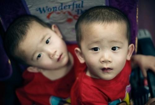"""中国超萌双胞胎""""小哥俩"""" 迅速在网络窜红"""
