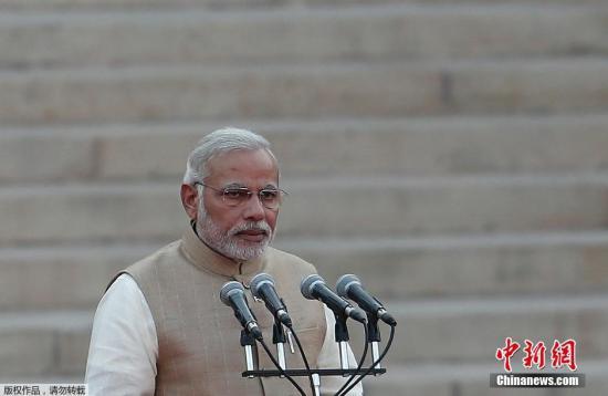 图为印度总理莫迪