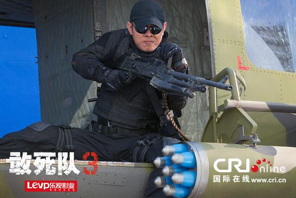 《敢死队3》发布全新剧照 李连杰施瓦辛格上演对手戏