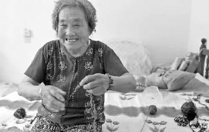 王翠英覺得住在養老院裡更自在