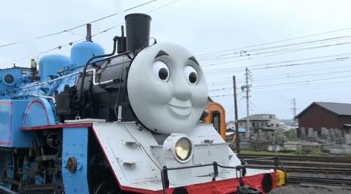 """原标题:卡通火车""""托马斯""""现日本"""
