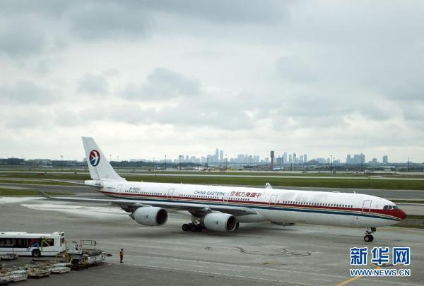 中国东航开通上海至多伦多国际直飞航线(组图)