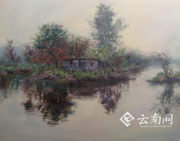 马惠龙云南风景写生作品展在昆明开展|油画|作品展