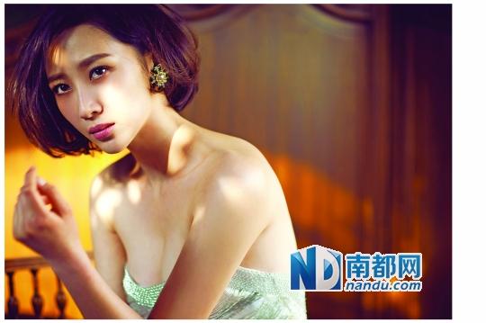 被误认万庆良情妇女演员:我没到过广东