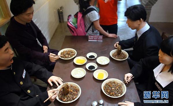 中国 韩国仁川/这是在韩国仁川中华街内的炸酱面博物馆(6月28日摄)。...