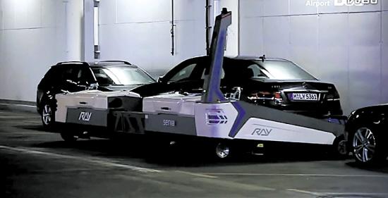 飞机自动泊位引导系统