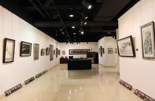 创意展厅设计手绘稿