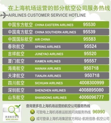 """上海两大机场解除""""大面积航班延误橙色预警""""(图)"""