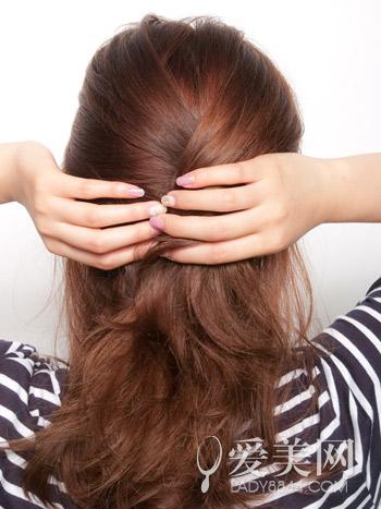 简单头发扎法步骤图解