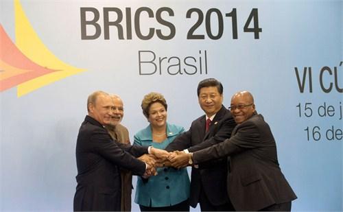 金砖国家领导人第六次会晤发表《福萨莱塔宣言》-金砖银行挑战美元 图片